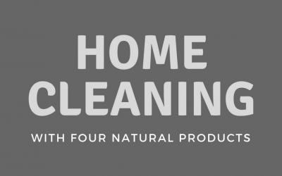 Home Cleaning with Four Natural Products