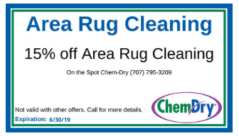 15% Off Area Rug Cleaning